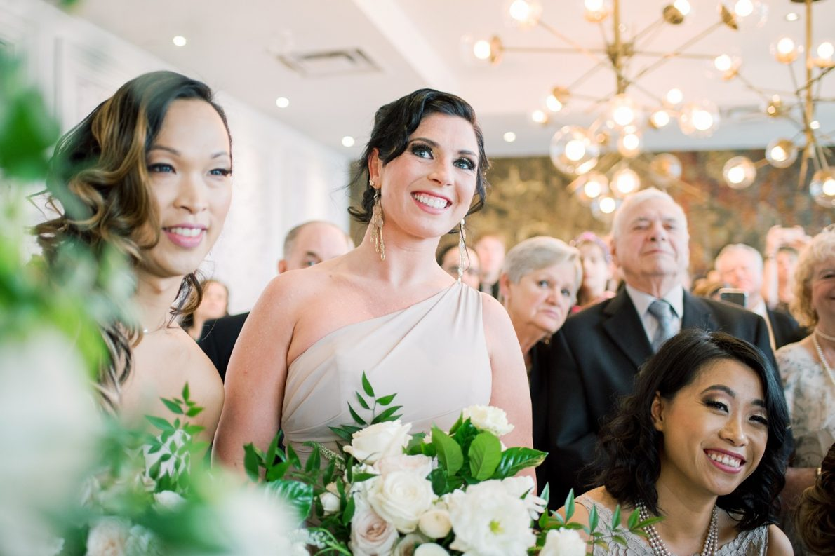 Wedding Ceremony Downtown Financial District Winter Canoe Restaurant Toronto Wedding Photos-Rhythm_Photography