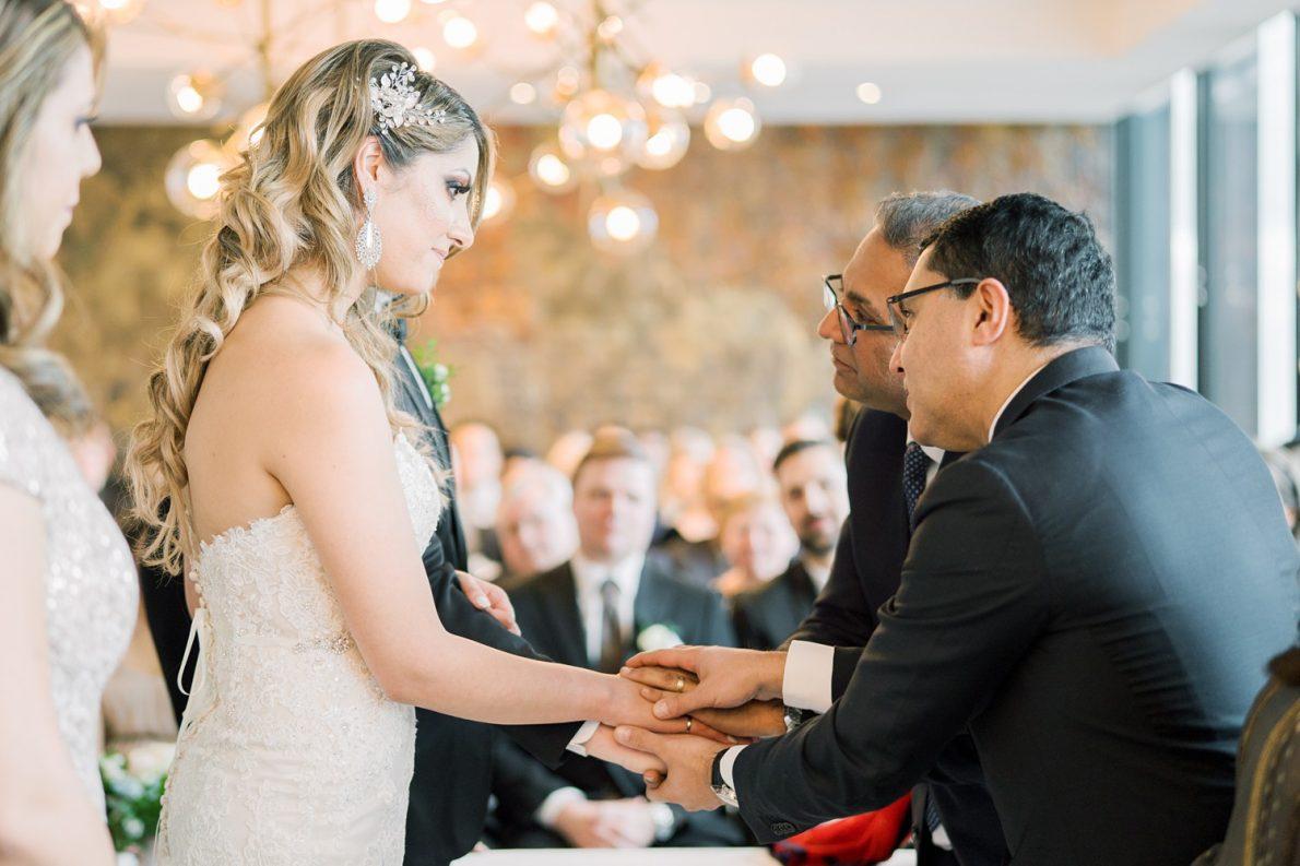 Ismali Wedding Ceremony Downtown Financial District Winter Canoe Restaurant Toronto Wedding Photos-Rhythm_Photography