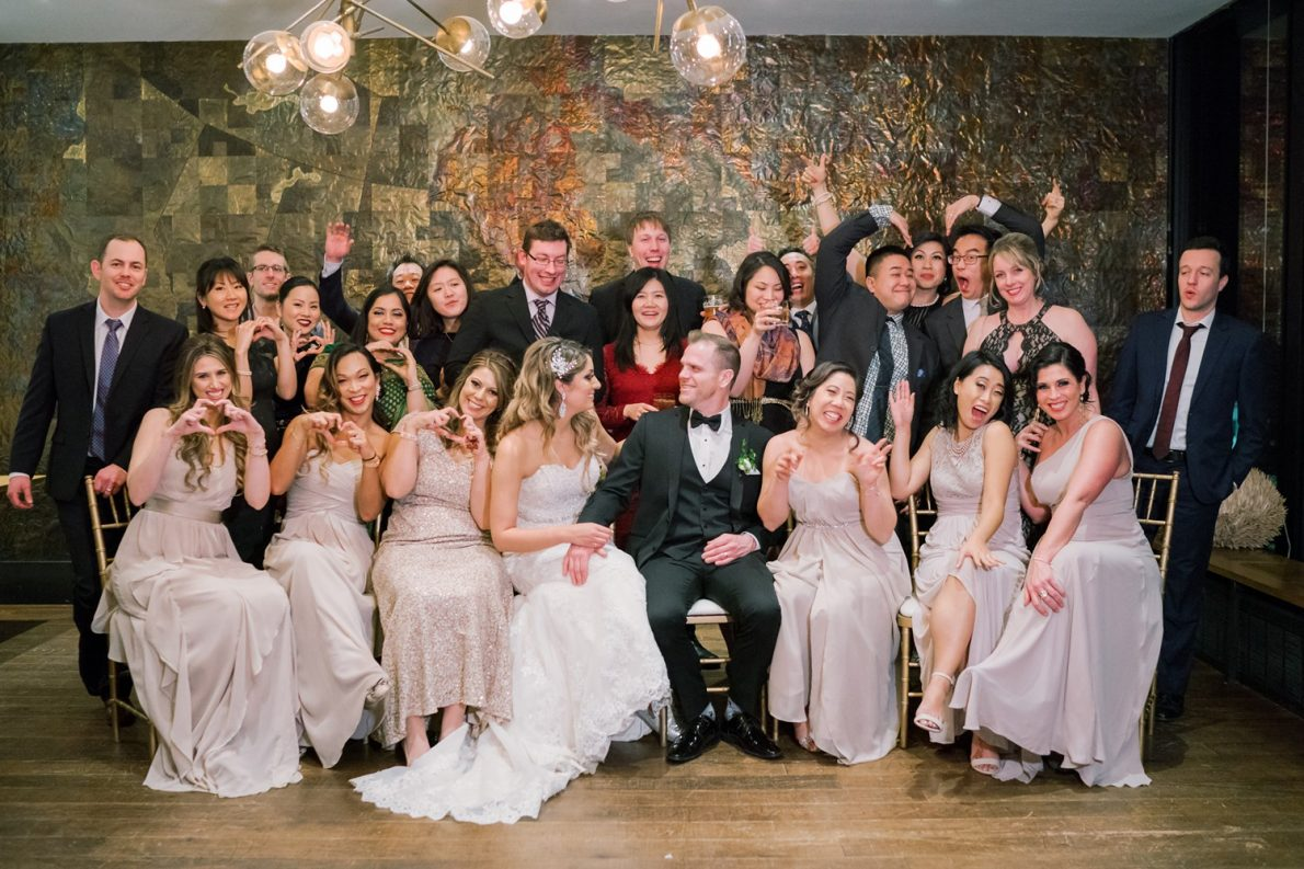 Fun Friends Downtown Financial District Winter Canoe Restaurant Toronto Wedding Photos-Rhythm_Photography