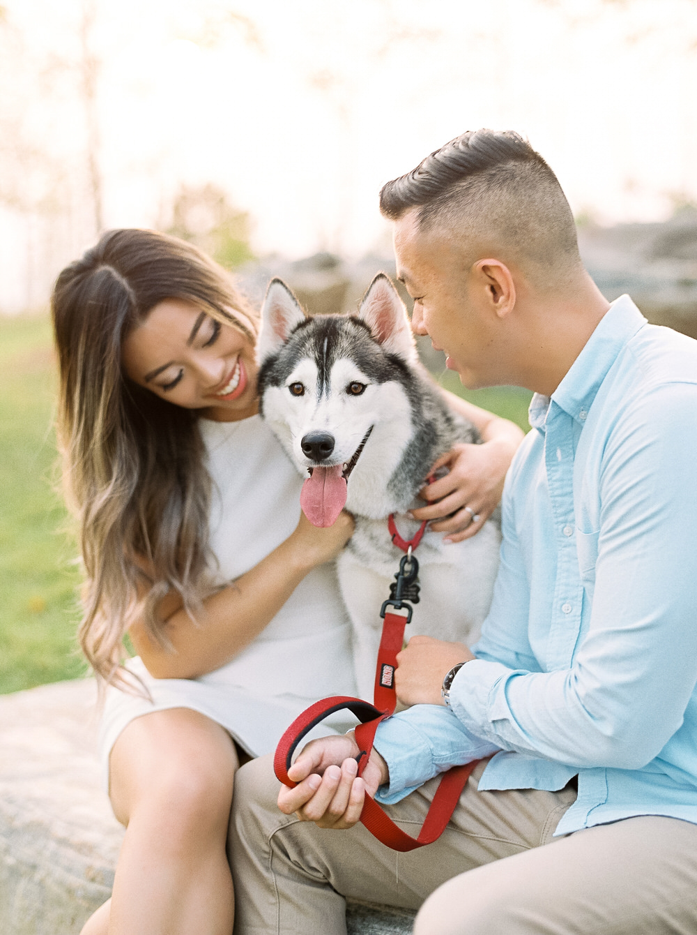 Husky_Trillium_Park_Toronto_Engagement_Photos-Rhythm_Photography
