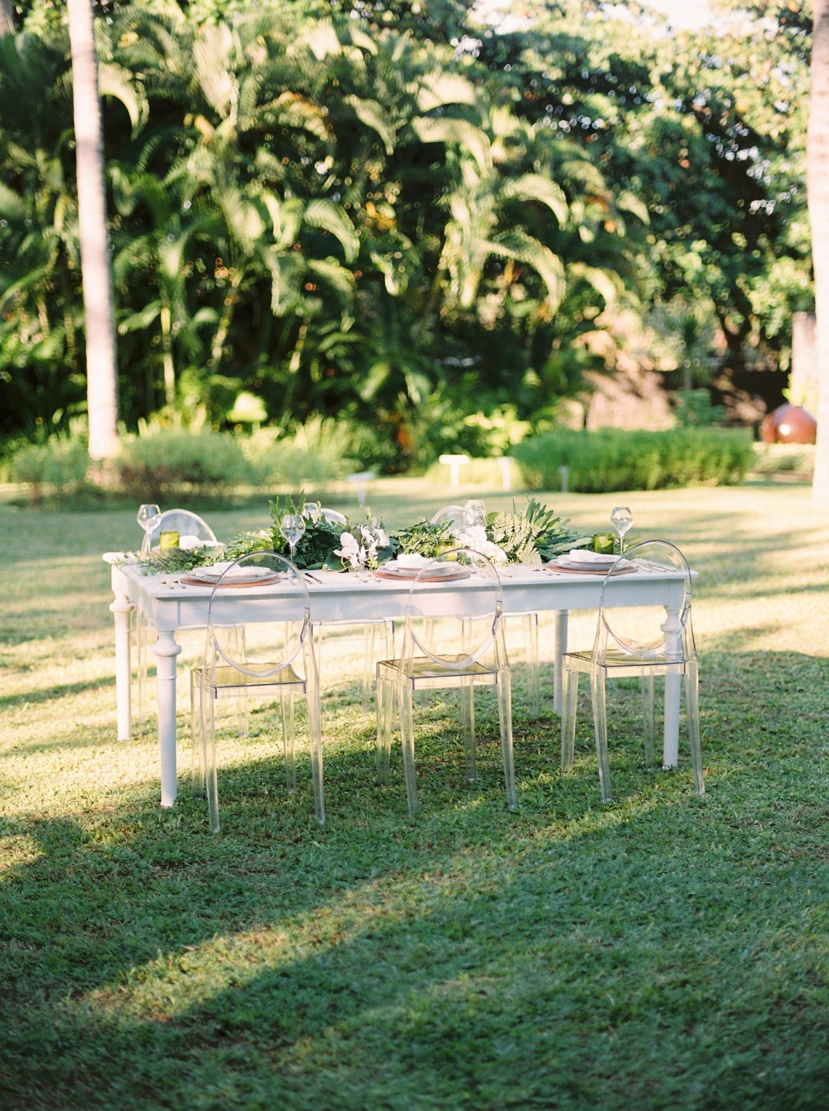 Outdoor Wedding Reception in Ubud Bali Wedding Photos at Cuca Restaurant Jimbaran