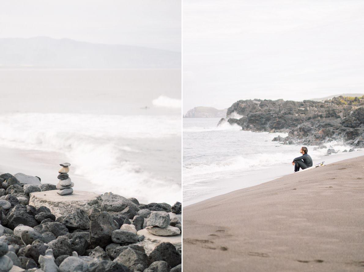 Santa Barbara Eco Beach Resort Surfing in Sao Miguel Azores Portugal