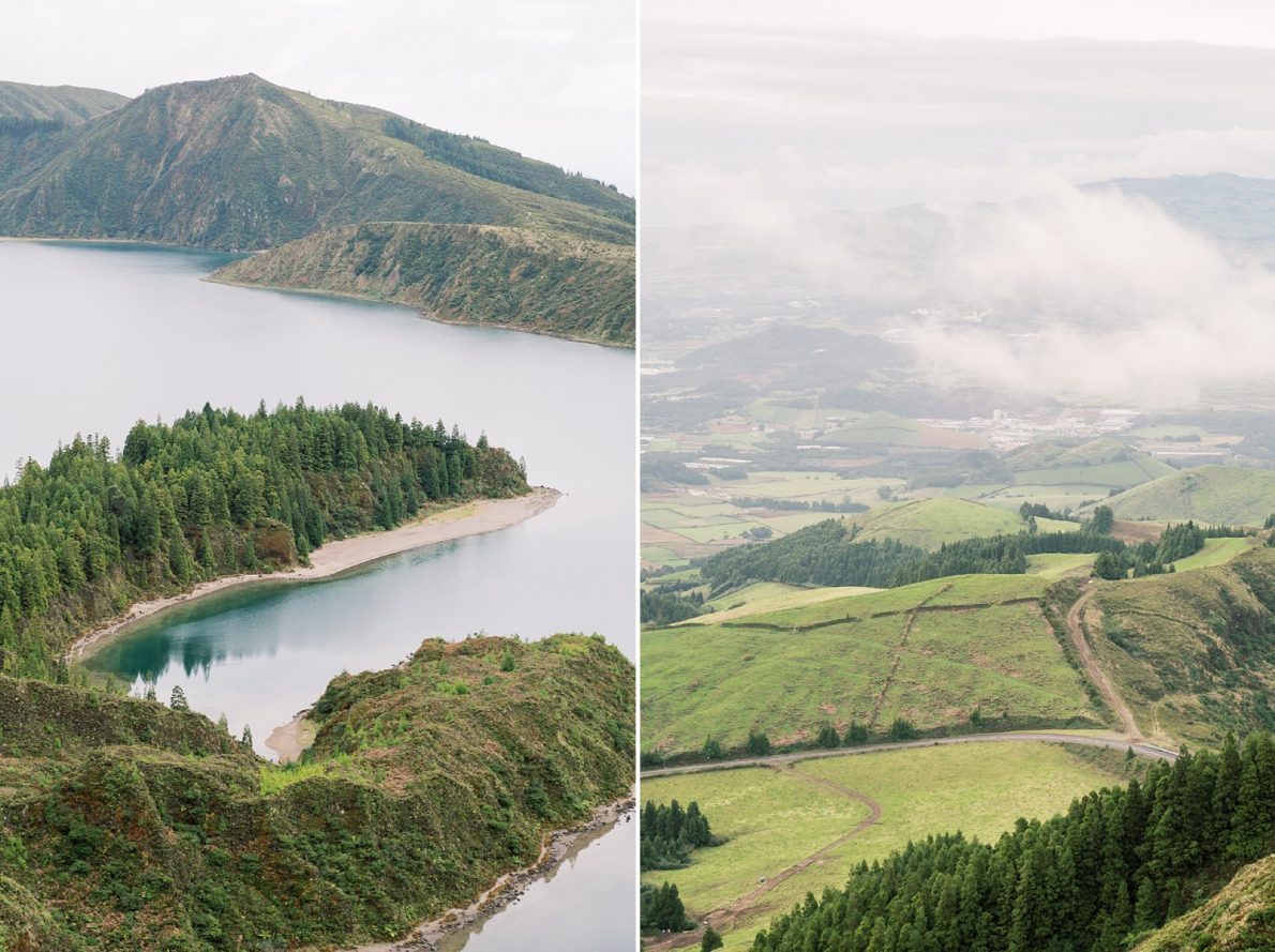 Lagoa do Fogo in Sao Miguel Azores Portugal Destination Wedding and Honeymoon