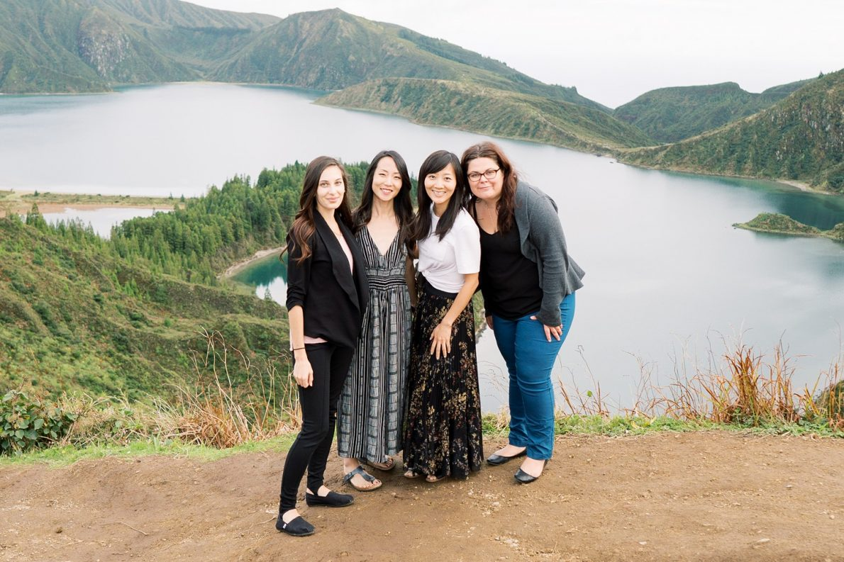 Girls Trip to Lagoa do Fogo in Sao Miguel Azores Portugal