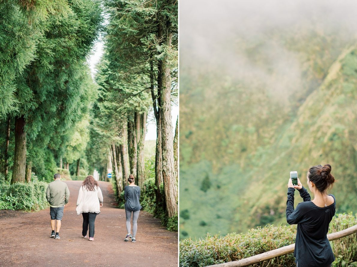 Sight Seeing Sao Miguel to Sete Cidades October Azores Portugal Girls Trip
