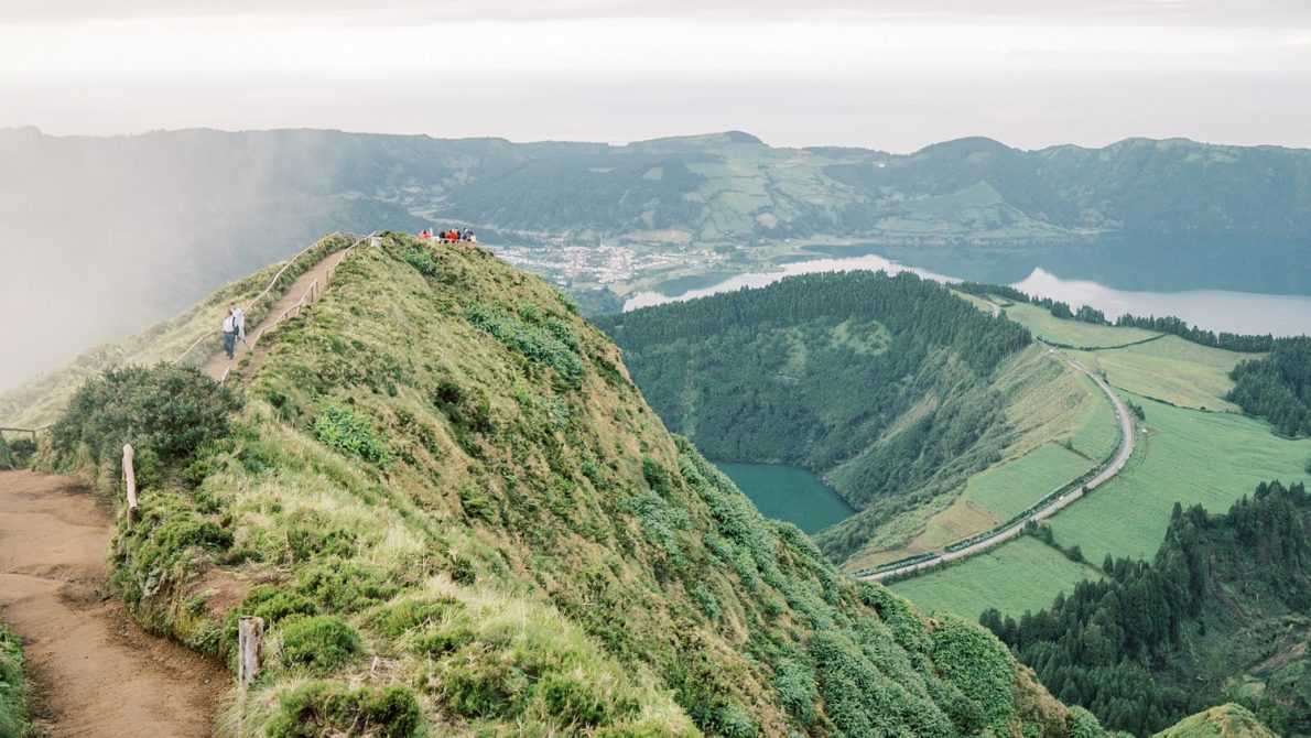 Sao Miguel to Sete Cidades October Azores Portugal Girls Trip