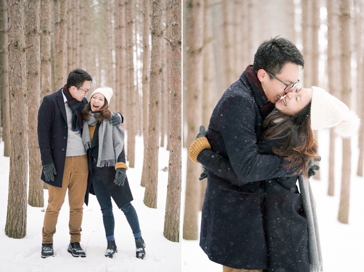 Chinese_Couple-Kortright_Conservation_Forest_Winter_Toronto_Engagement_Photos-Rhythm_Photography-042