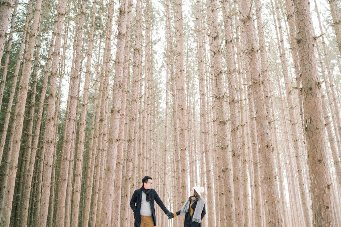 Kortright_Conservation_Forest_Winter_Toronto_Engagement_Photos-Rhythm_Photography-042
