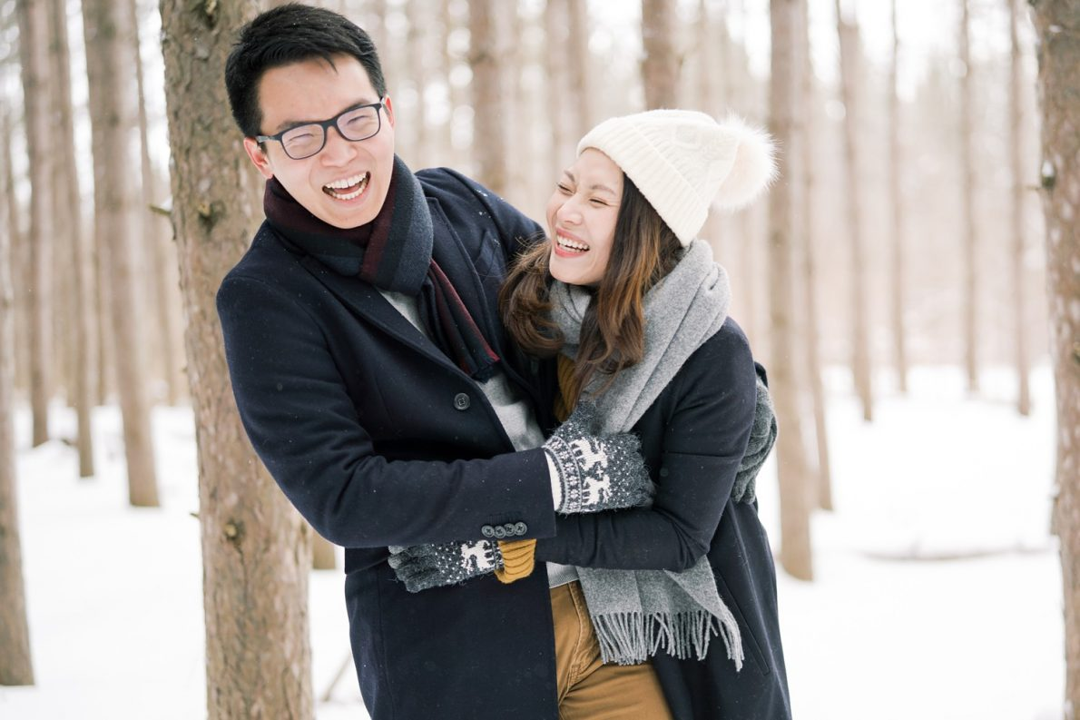Happy-Couple-Kortright_Conservation_Forest_Winter_Toronto_Engagement_Photos-Rhythm_Photography-042