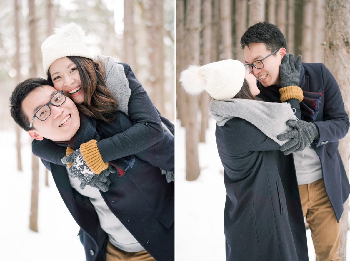 Fun-Kortright_Conservation_Forest_Winter_Toronto_Engagement_Photos-Rhythm_Photography-042