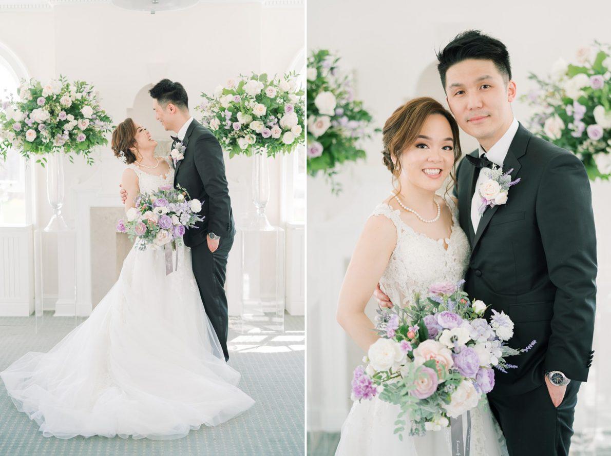 Bayview Room Estates of Sunnybrook McLean House Toronto Wedding Photos