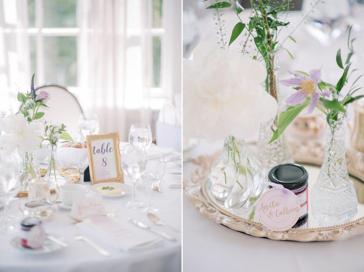 Lunch Reception details Estates of Sunnybrook McLean House Toronto Wedding Photos