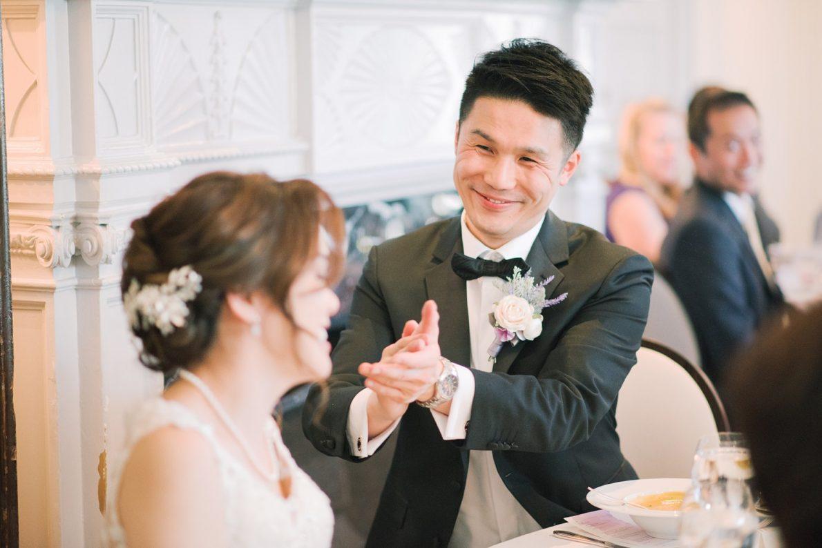 Lunch reception at Estates of Sunnybrook McLean House Toronto Wedding Photos
