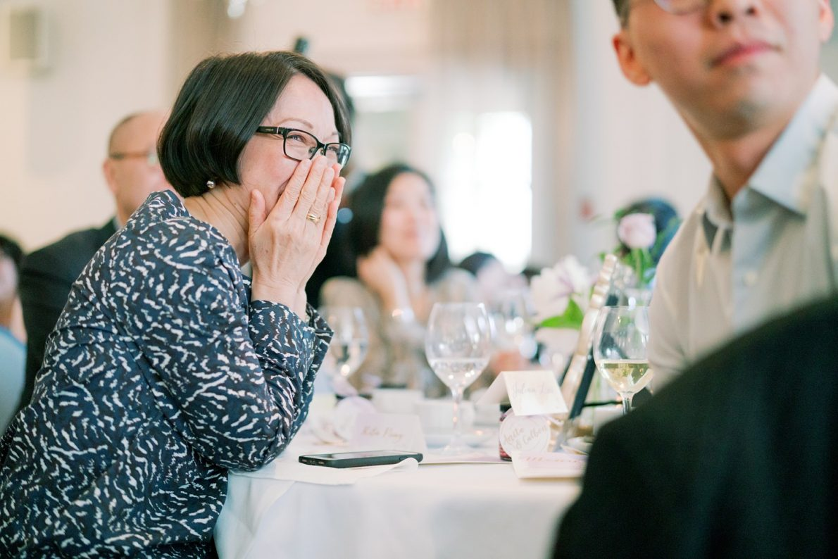 Candid photos at lunch reception in Estates of Sunnybrook McLean House Toronto Wedding Photos