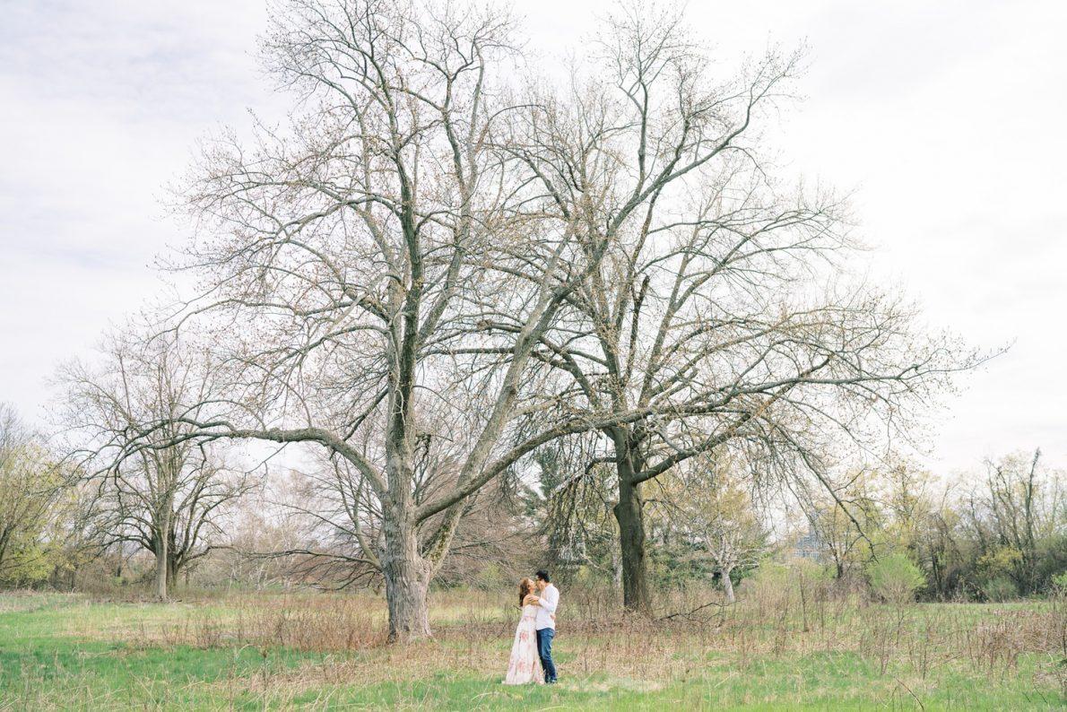 Dreamy David Dunlap Observatory Toronto Engagement Photos