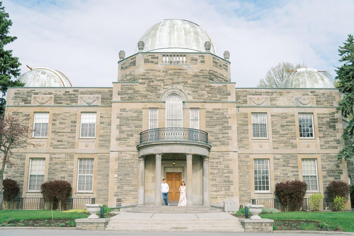 David Dunlap Observatory Toronto Engagement Photos