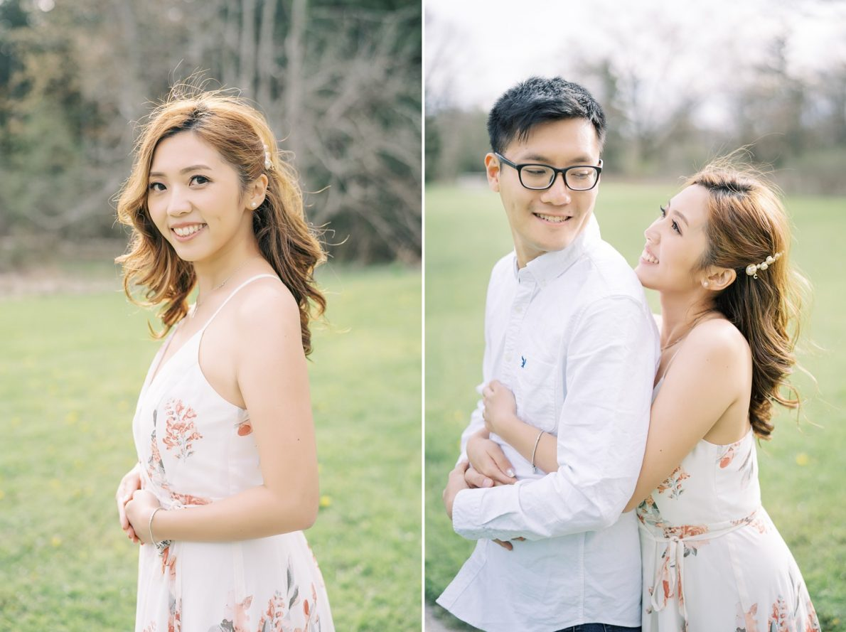 Pre-wedding photography at David Dunlap Observatory Toronto Engagement Photos