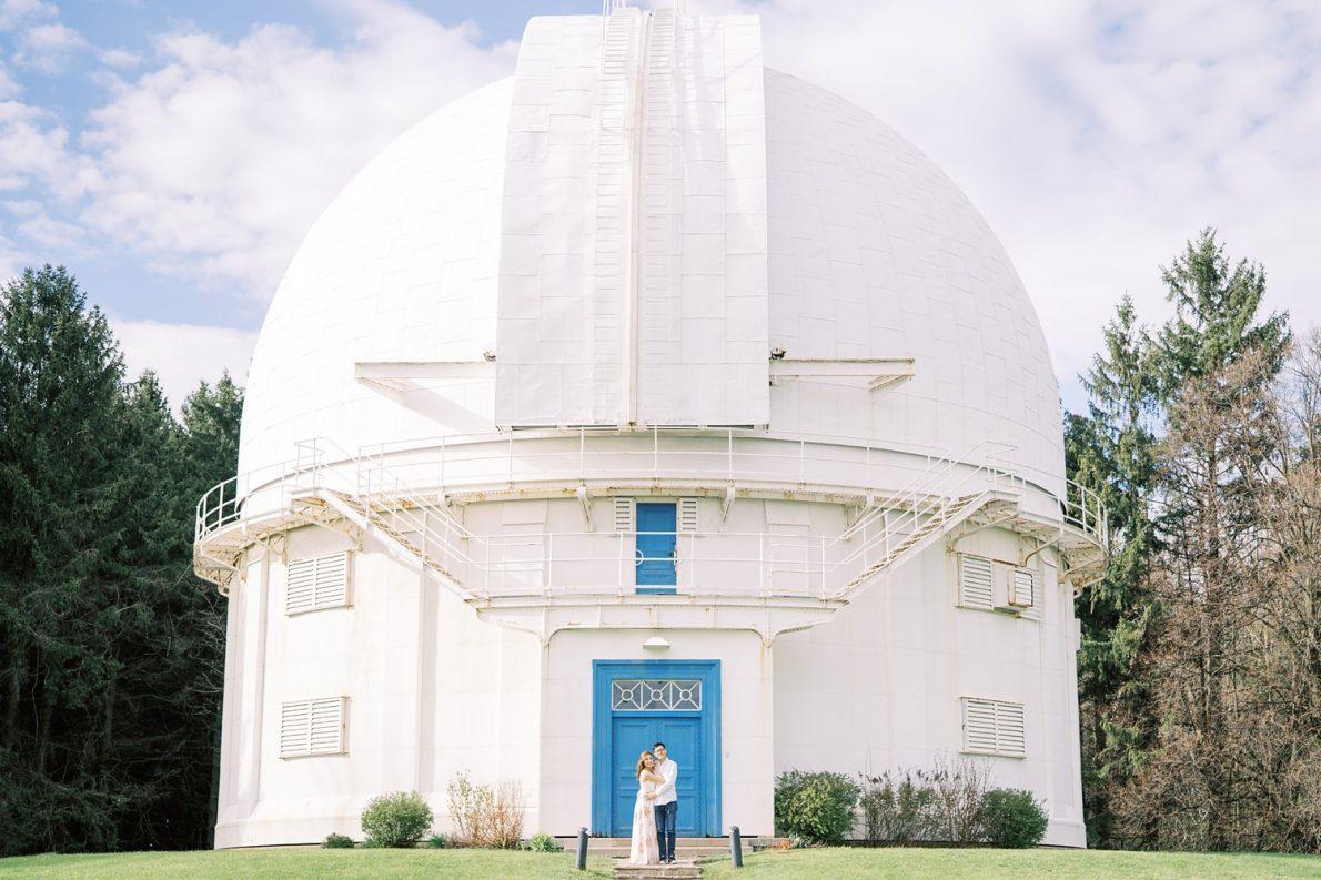 Hong Kong Couple at David Dunlap Observatory Toronto Engagement Photos