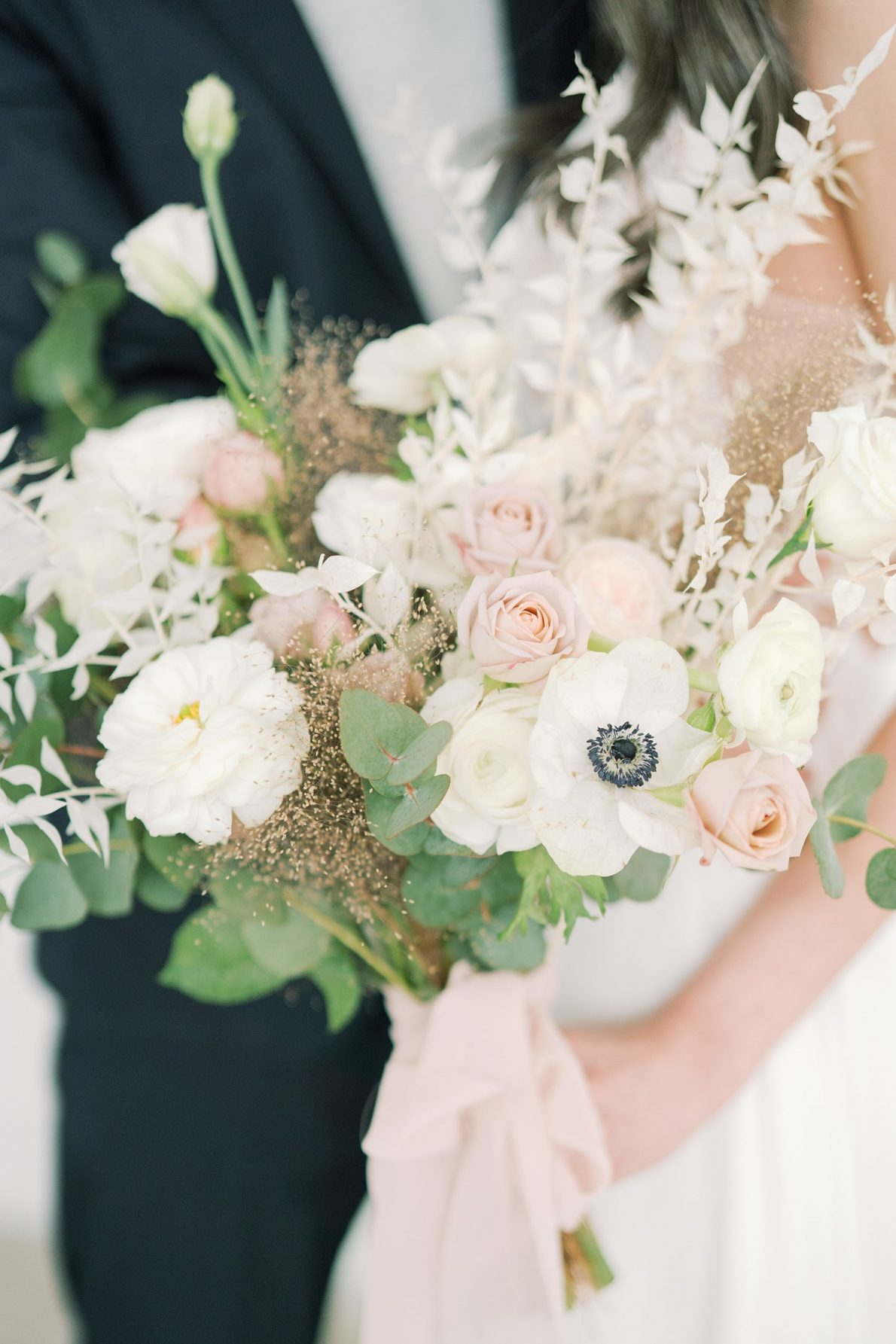 Dreamy Toronto Engagement Flowers at Mint Room Studio Conservatory