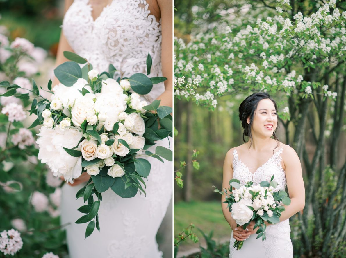 Wedding bouquet at Edwards Garden and Toronto Botanical Garden Wedding Photos