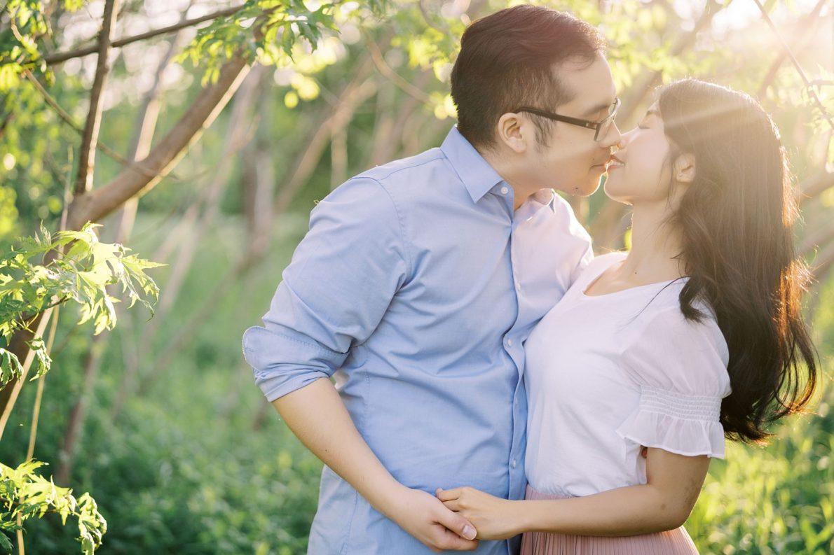 Toronto Markham Engagement Photos