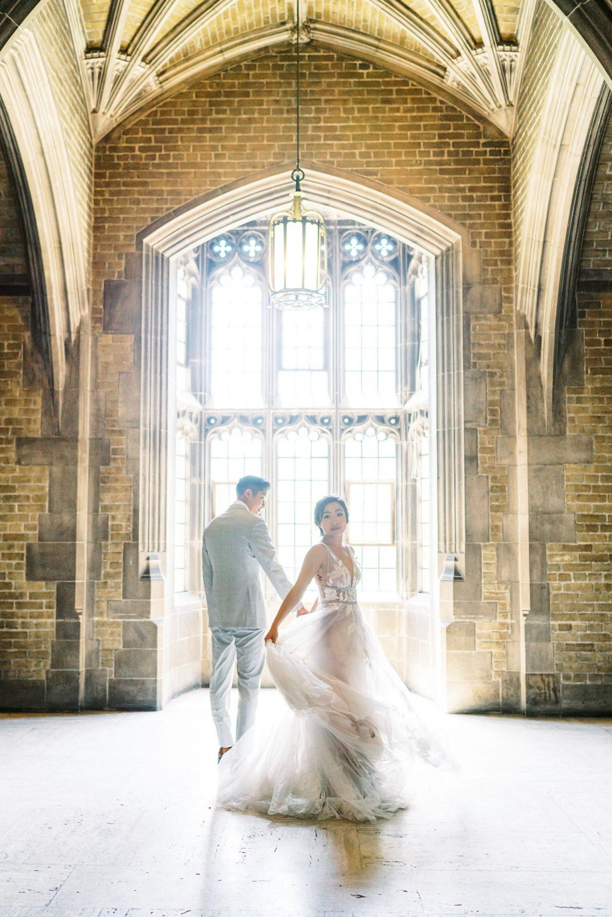 University of Toronto Hart House Wedding Portrait Toronto Wedding Photos