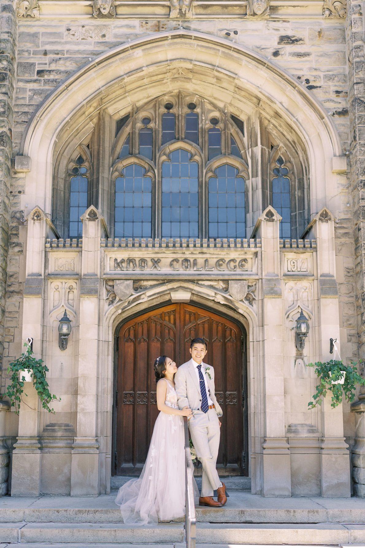 University of Toronto Hart House Knox College Wedding Photos Toronto Wedding Photos