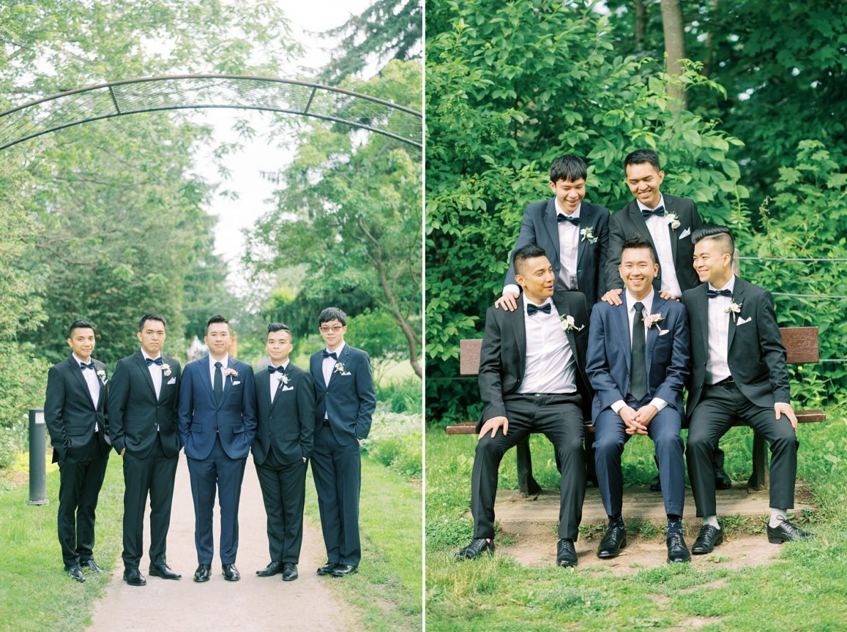 Guild Inn Estates Groomsmen Toronto Wedding Photographer