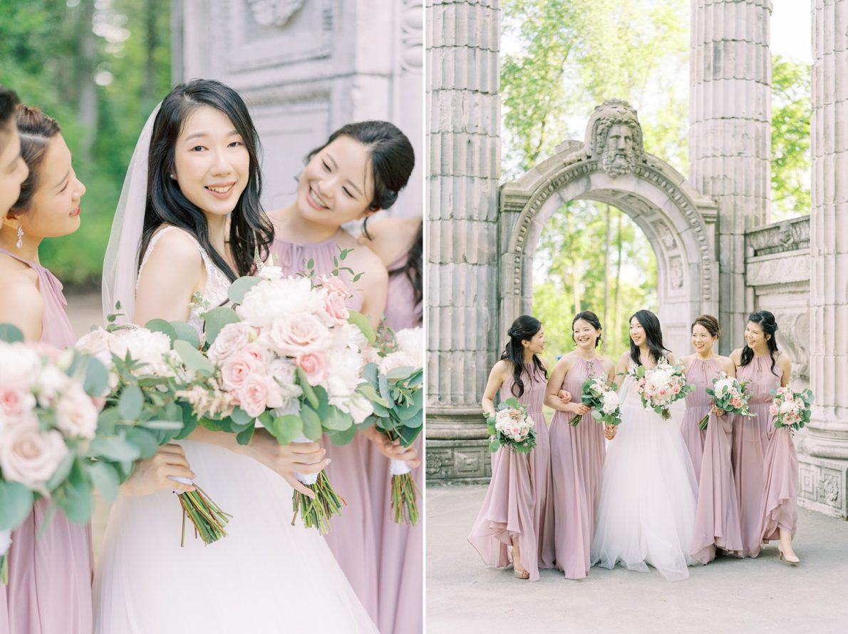 Guild Inn Estates Bridesmaids Toronto Wedding Photographer