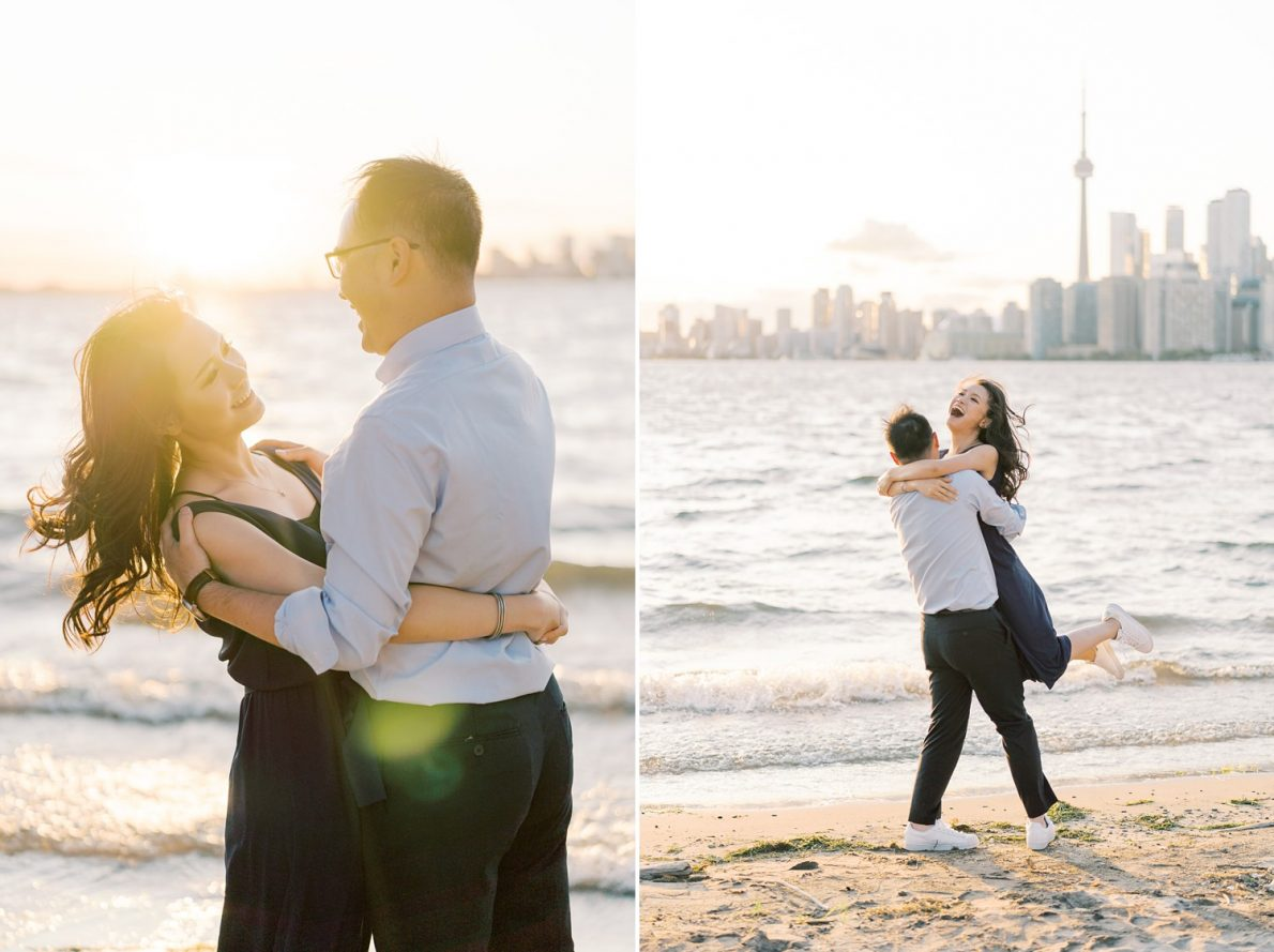 Wards Island Toronto Engagement Photos